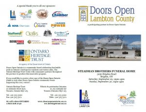 Doors Open Lambton